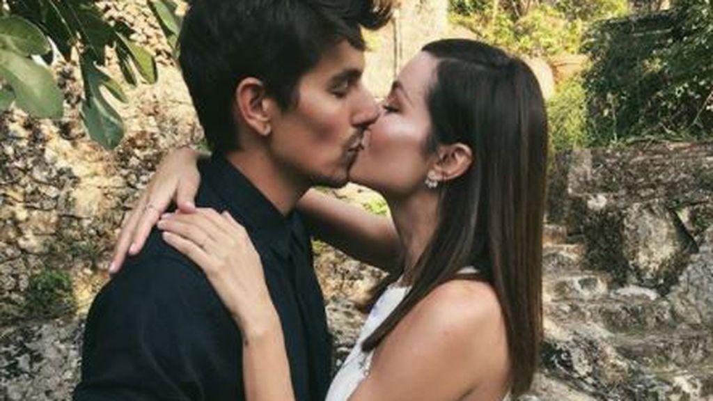 Amor, boda e hijo: la historia con final muy feliz de Dafne Fernández y Mario Chavarría