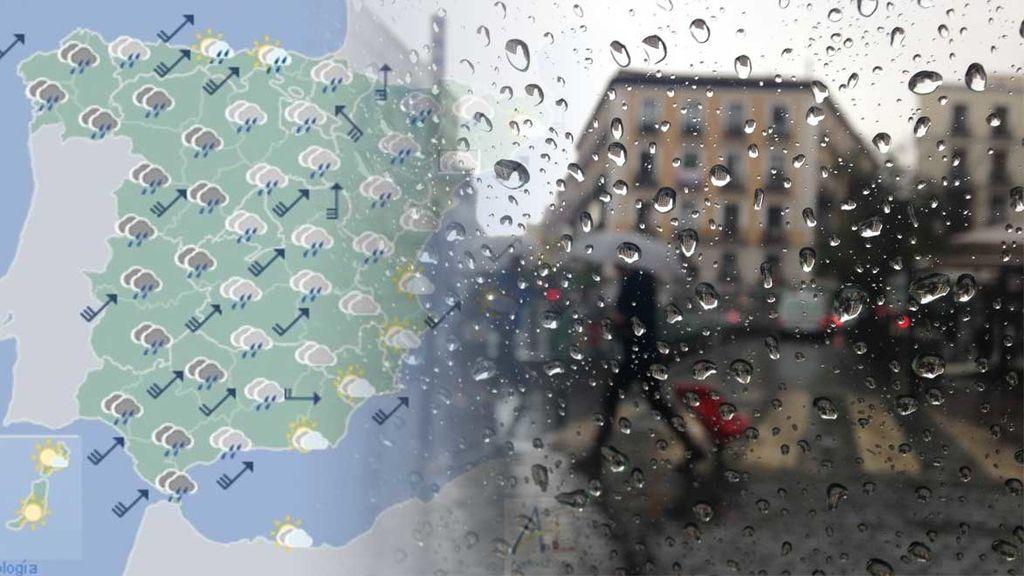 Borrasca Gisele: te decimos hasta cuándo durará el temporal de lluvias y viento