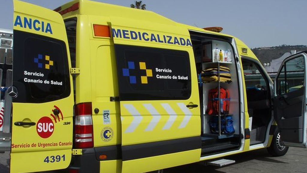 En estado crítico tras quedar colgado de una palmera a 12 metros de altura en Tenerife