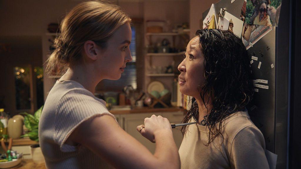 'Killing Eve', miniserie de ocho episodios protagonizada por Sandra Oh y Jodie Comer.