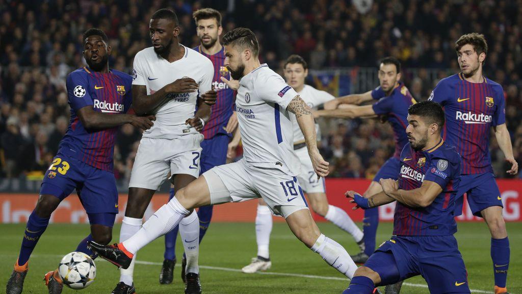 El Barcelona ya está en cuartos tras ganar al Chelsea (3-0) en un gran partido de Messi