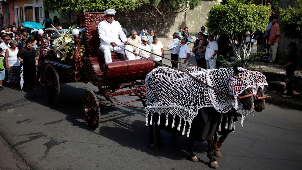 Cortejo fúnebre nicaragüense