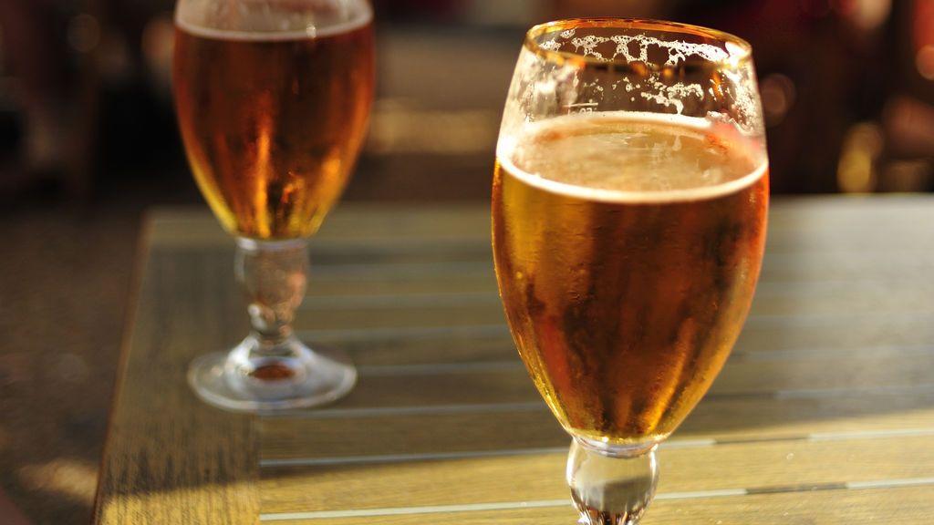 Bélgica robo vasos cervezas