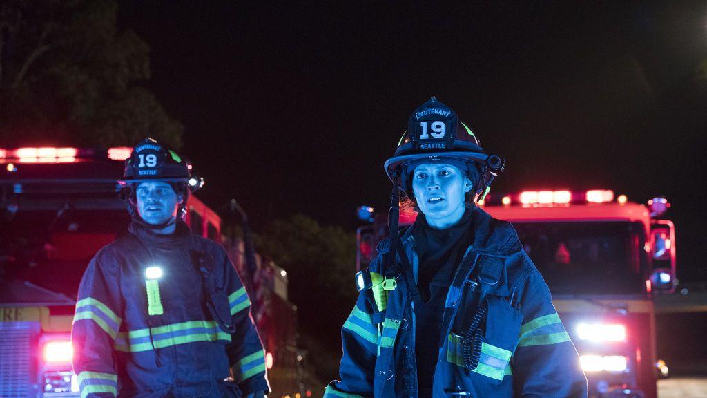 Jaina Lee Ortiz, al frente del equipo de bomberos