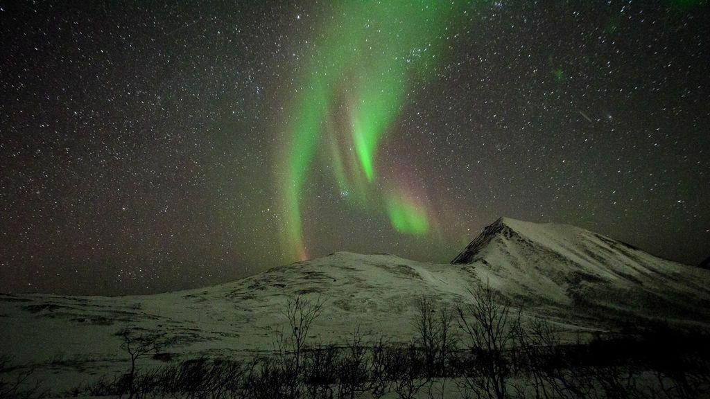 Pilar Cánovas Sánchez en Tromsø, Noruega, Circulo Polar Ártico