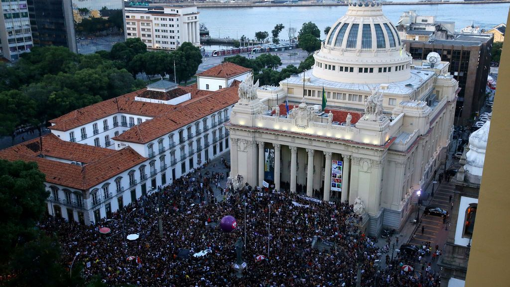 Brasil despide a Marielle Franco