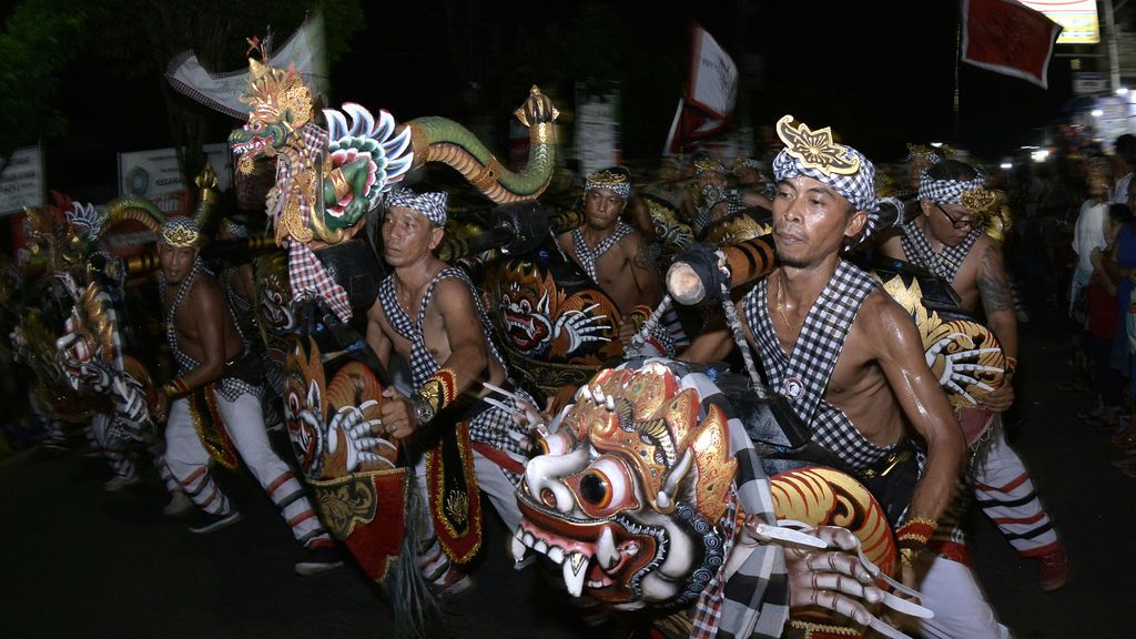 Ceremonia tradicional indonesia