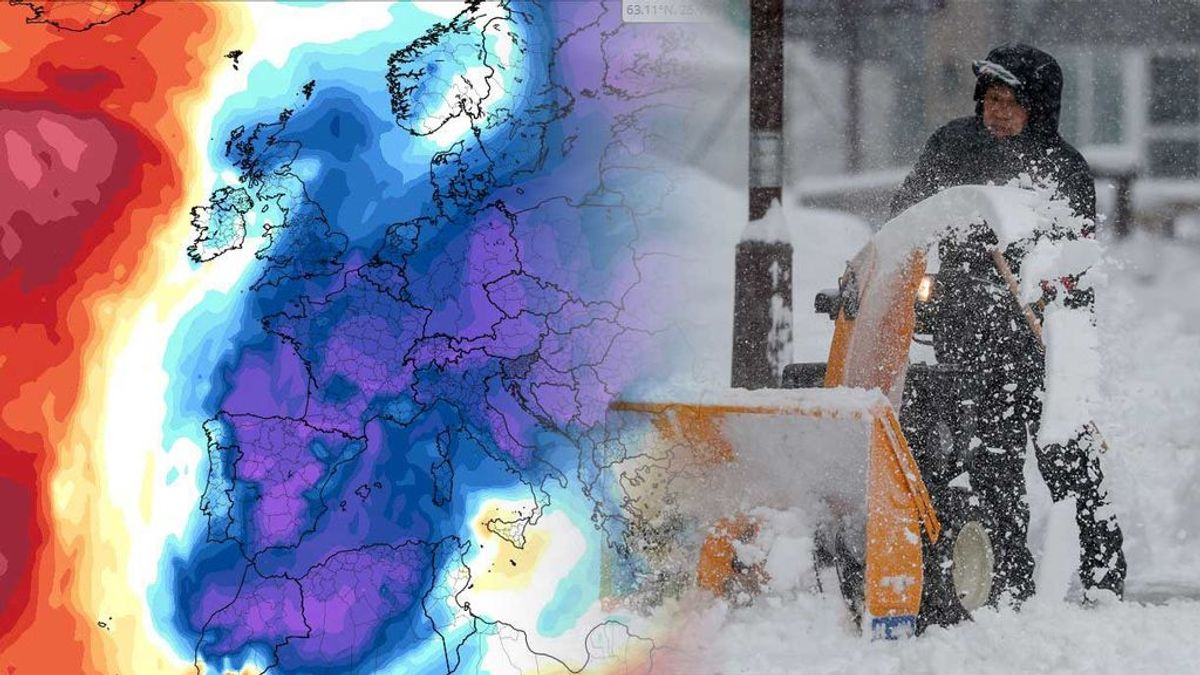 La nueva 'bestia del Este' llegará este lunes: frío como en Oslo y nieve a 200 metros