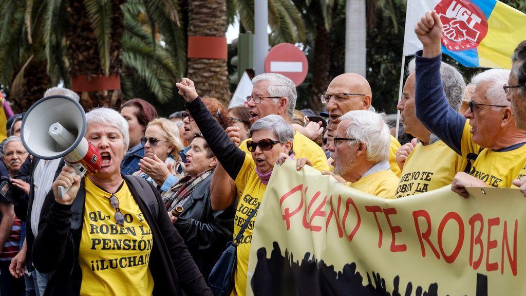 Manifestación de jubilados en toda España, por unas pensiones dignas