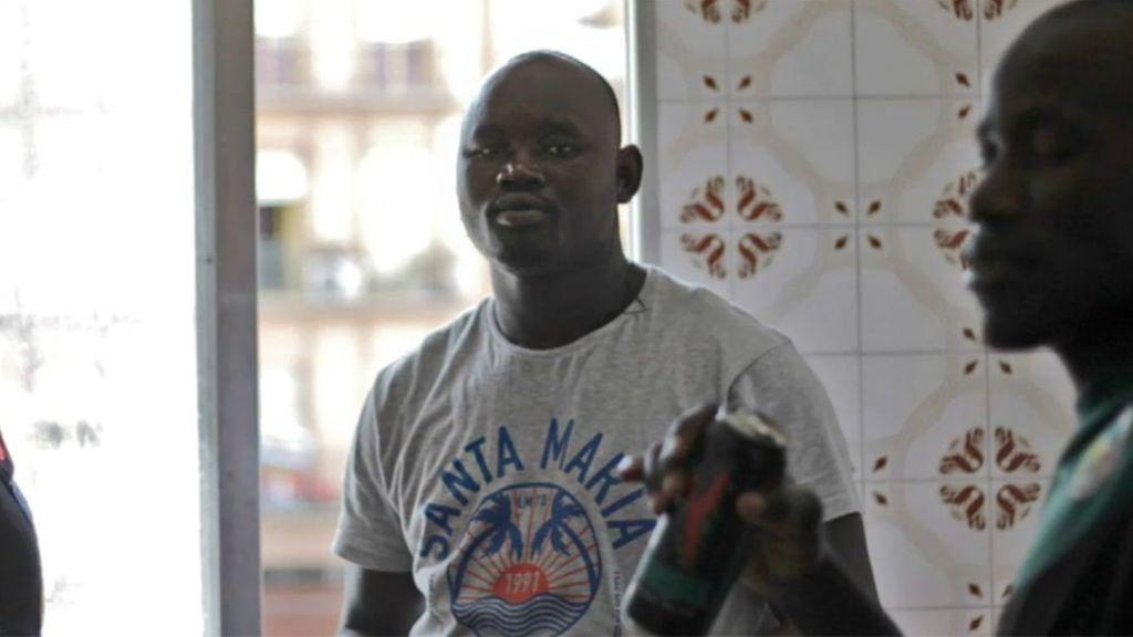 Tranquilidad en Lavapiés tras los altercados a raíz de la muerte de Mame Mbaye