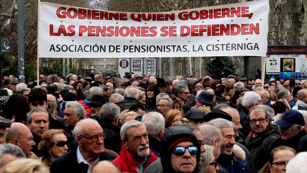 Manifestaciones de jubilados en toda España por unas pensiones dignas