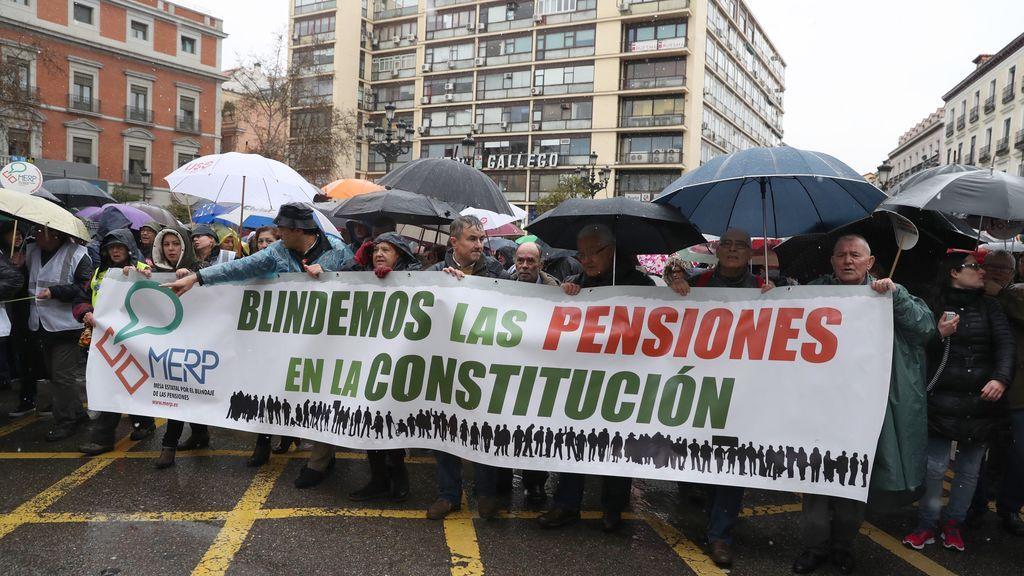 El 17-M de los jubilados: marchas por toda España en defensa de pensiones dignas