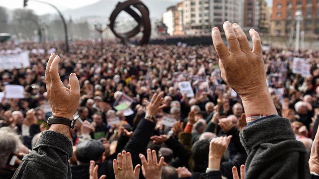 Los pensionistas, a las calles de toda España en defensa de unas pensiones dignas