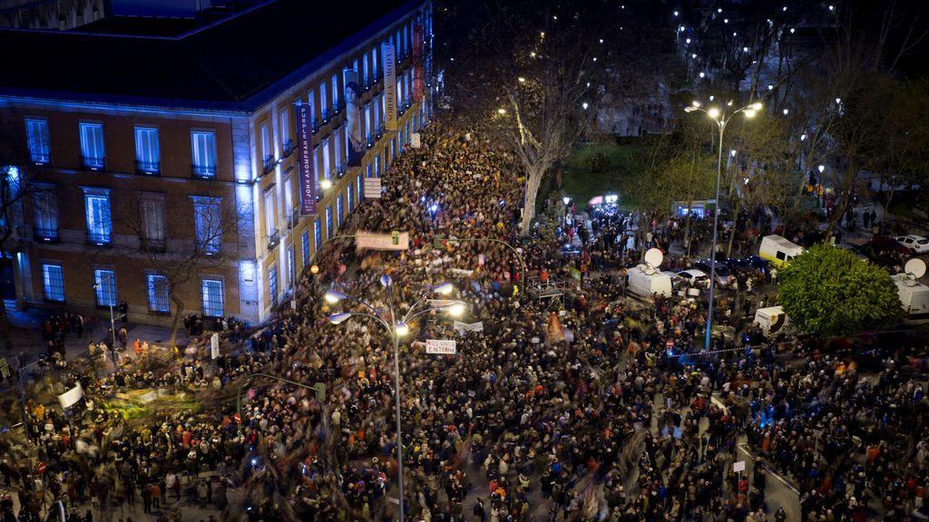 manifestacion Ley Mordaza y pensiones