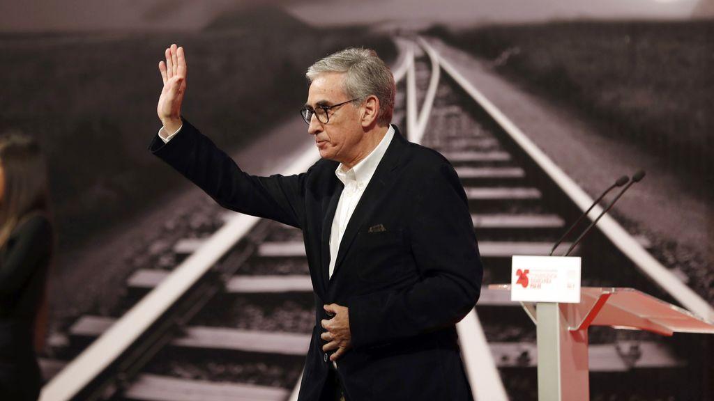 Ramón Jáuregui anuncia en Bilbao su decisión de abandonar la política