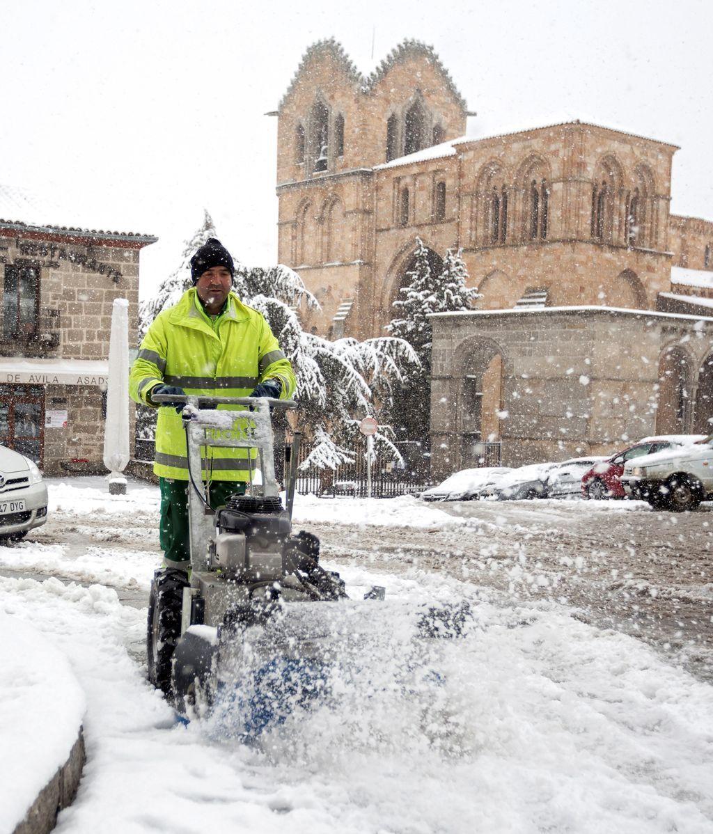 En riesgo 31 provincias por nieve, lluvia, viento y fuerte oleaje