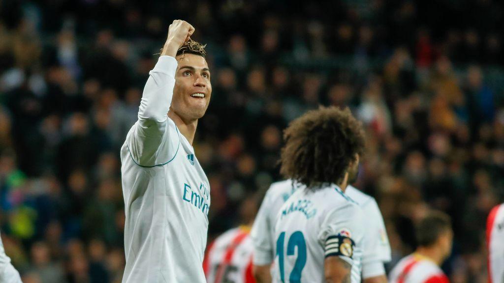 El Real Madrid gana al Girona capitaneado por Cristiano (6-3)
