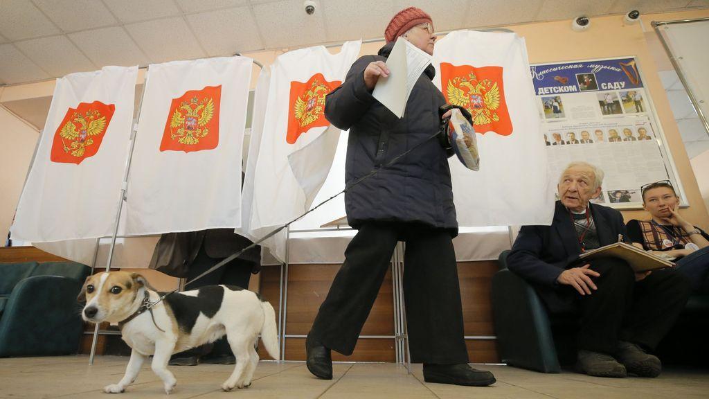 La participación provisional en las elecciones rusas se sitúa en el 16,55%