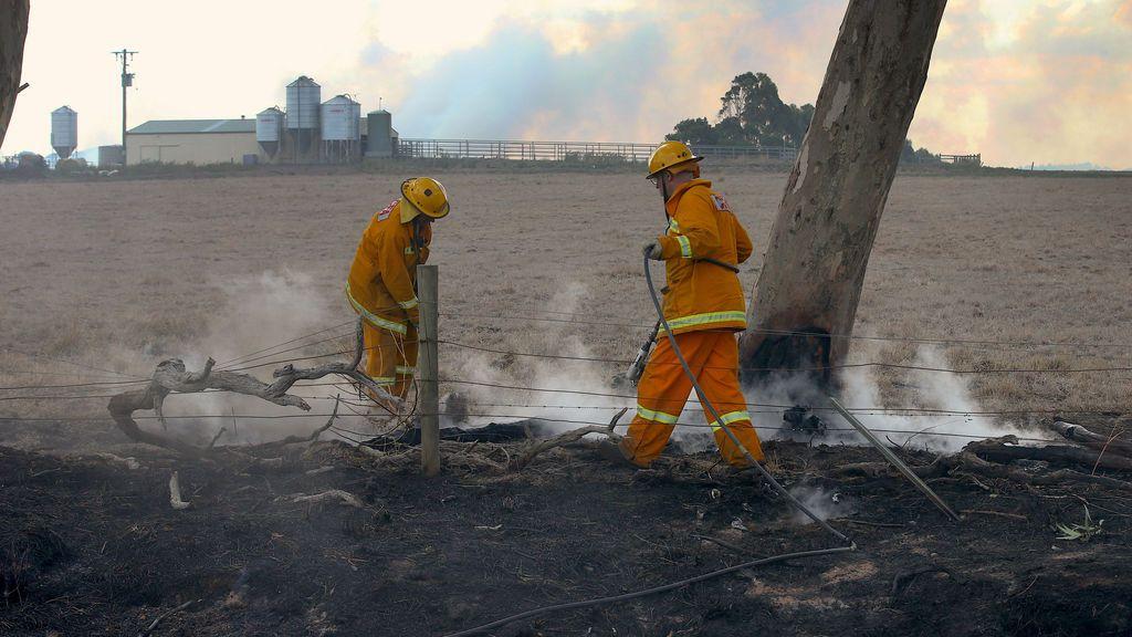 Más 40.000 hectáreas arrasadas al oeste de Australia a causa de un incendio forestal