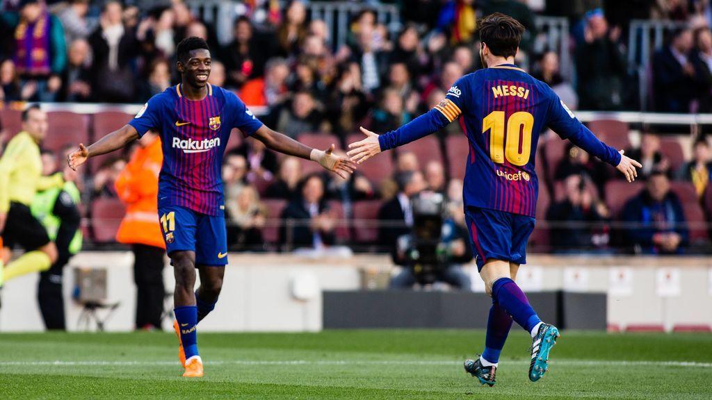 El Barcelona sigue con paso firme tras ganar al Athletic (2-0)