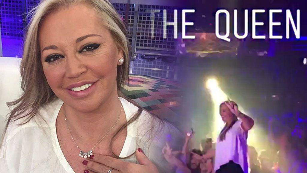 El talento oculto de Belén Esteban: Lo da TO-DO como reina de la pista