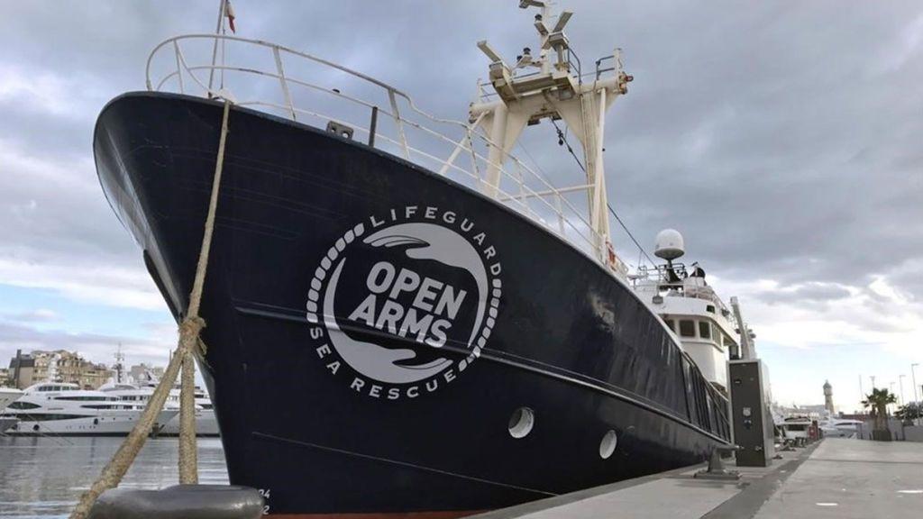 El barco de Proactiva Open Arms sigue retenido en Sicilia  a la espera de una acusación