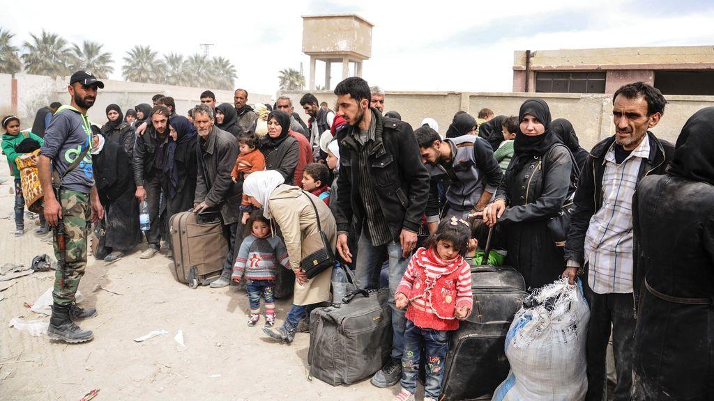 Rusia asegura que más de 3.500 han salido de Ghuta Oriental durante hoy
