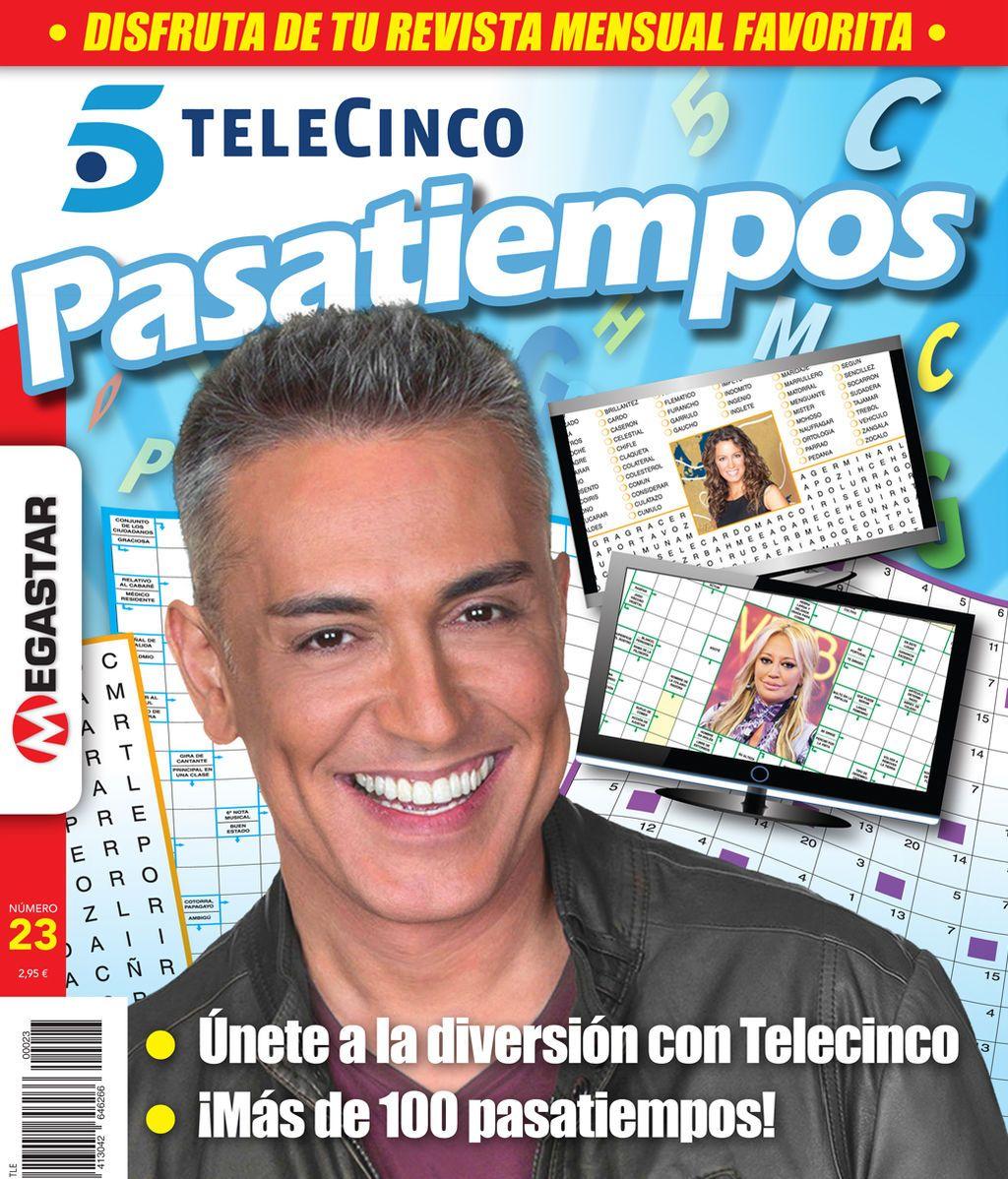 ¡Ya a la venta la nueva entrega de Pasatiempos de Telecinco!