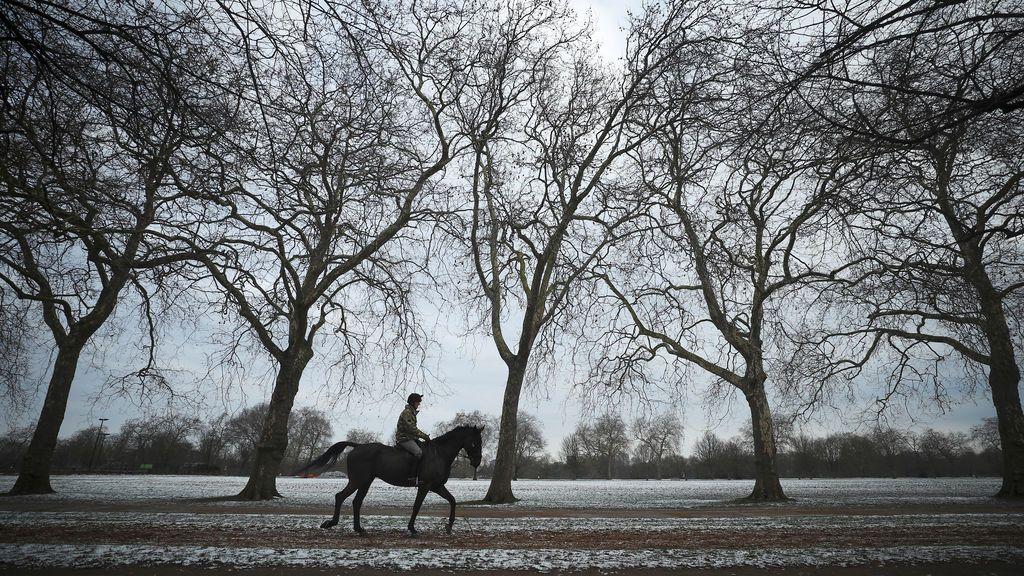 Londres vuelve a estar nevado