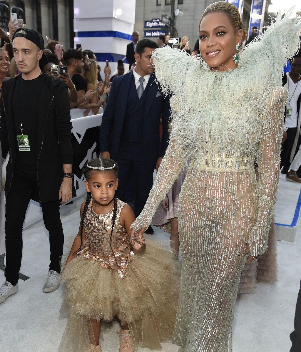 La hija de Beyoncé y Jay-Z puja 19.000 dólares por un cuadro