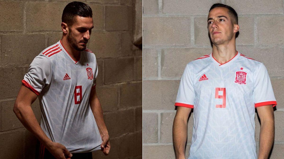 ¿Gris, azul o blanca?: las redes tampoco se ponen de acuerdo con el color de la nueva camiseta de España