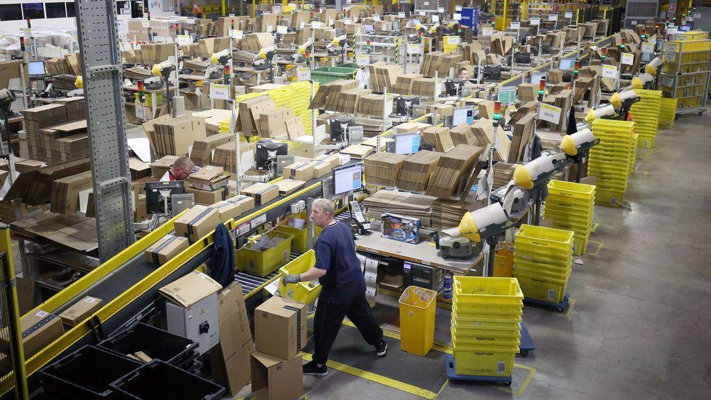 """(AMP) Los sindicatos califican como """"éxito total"""" la huelga de los trabajadores de Amazon en San Fernando"""