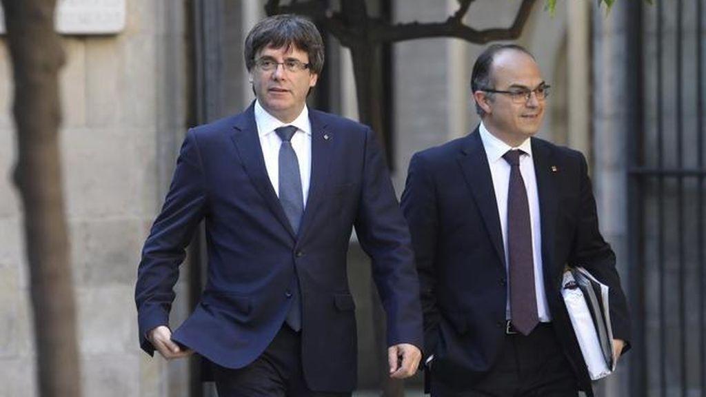 """Puigdemont ve a Turull un """"gran presidente"""" para revertir el 155 y hacer respetar el resultado electoral del 21D"""