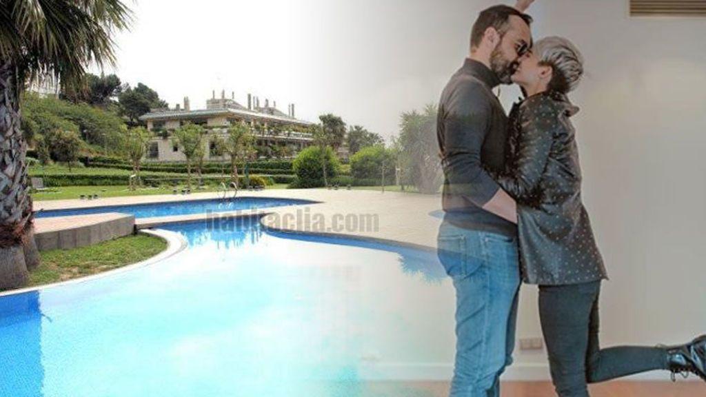 Piscina, jardín y 8.000 euros al mes: la nueva casa de Risto y Laura, en fotos
