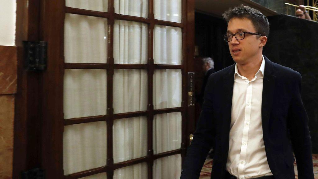 """Errejón  sobre la supuesta falsificación de Cifuentes en un máster: """"En Alemania por menos dimitió un ministro"""""""
