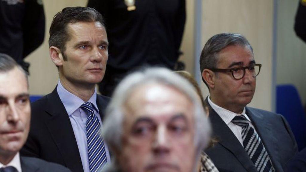 """La Fiscalía pide más pena para Urdangarín y Torres por haber sido el """"motor"""" del delito en Nóos"""