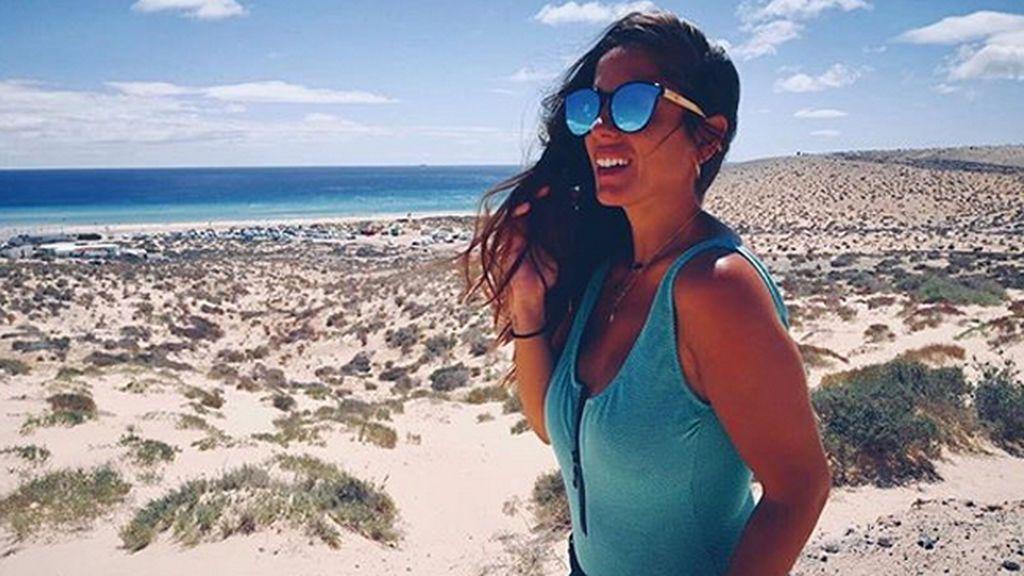 Anabel Pantoja 'callejera': la colaboradora de Sálvame sube el listón del 'crossfit'