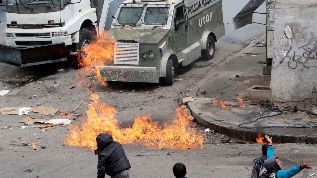 Los narcos colombianos se enfrentan a la policía