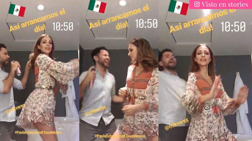 Mientras en España se comunica su divorcio, Paula baila y llama por primera vez ex marido a Bustamante en México