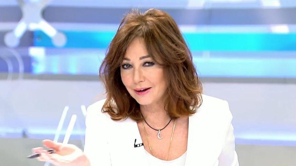 Ana Rosa entrevista a Albert Rivera el viernes 23 de marzo en Telecinco.