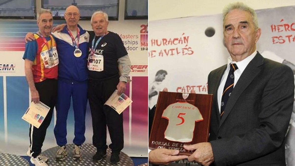 Marcelo Campanal, histórico futbolista del Sevilla, consigue una medalla europea en atletismo a los… 86 años