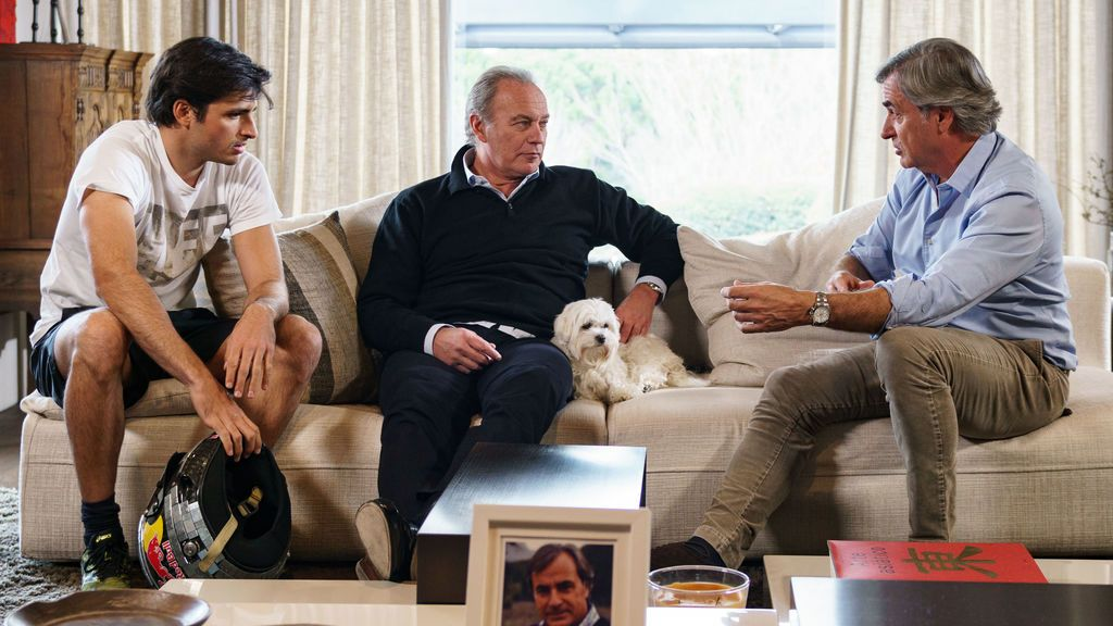 Carlos Sainz, invitado de 'Mi casa es la tuya'