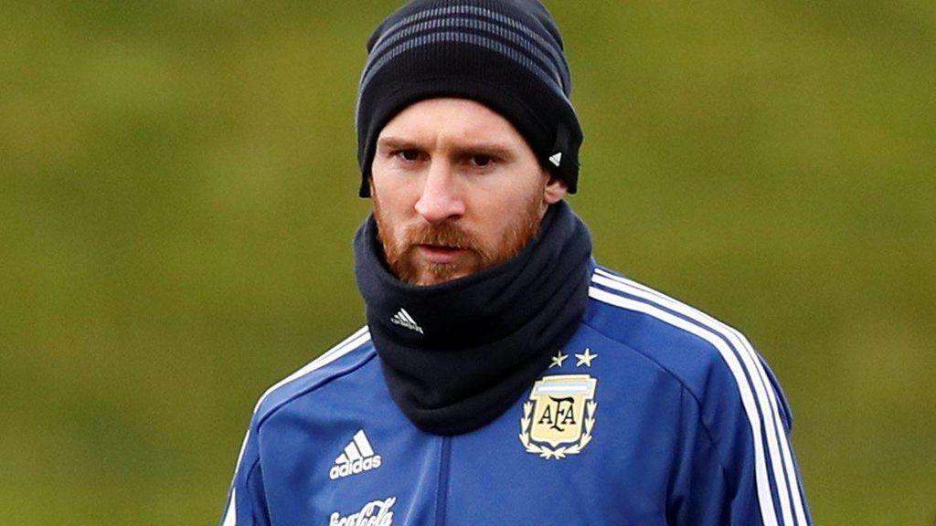 El golazo de Messi en el entrenamiento de Argentina dejando atrás a siete defensas