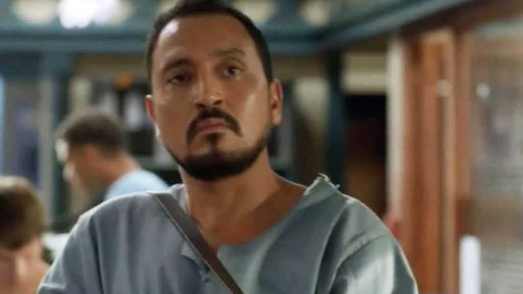 Naoufal Azzouz, en la serie 'El príncipe'.