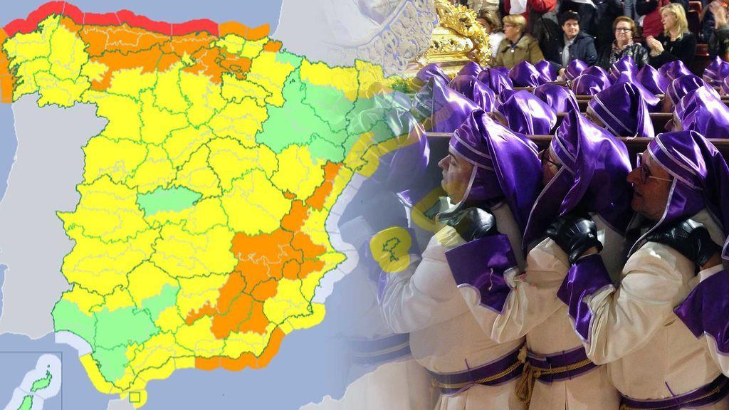 El primer finde de Semana Santa será aún invernal: la previsión, día por día