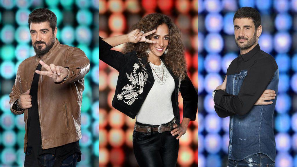 Melendi, Rosario y Orozco completan sus equipos, el lunes en las çúltimas 'Audiciones a ciega' de 'La Voz Kids 4'