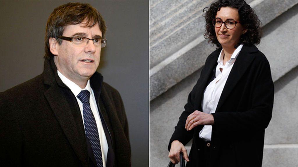 Orden de detención internacional para Puigdemont, Rovira y el resto de huidos, excepto Anna Gabriel