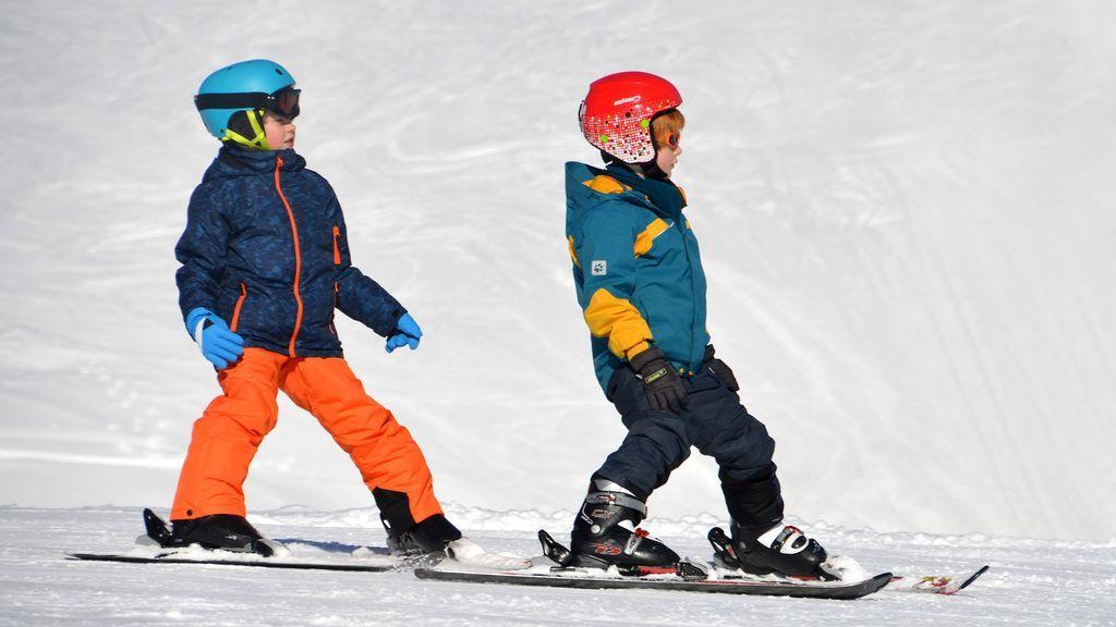 Esquí y snowboard: Las lesiones más comunes en niños y siete claves para evitarlas