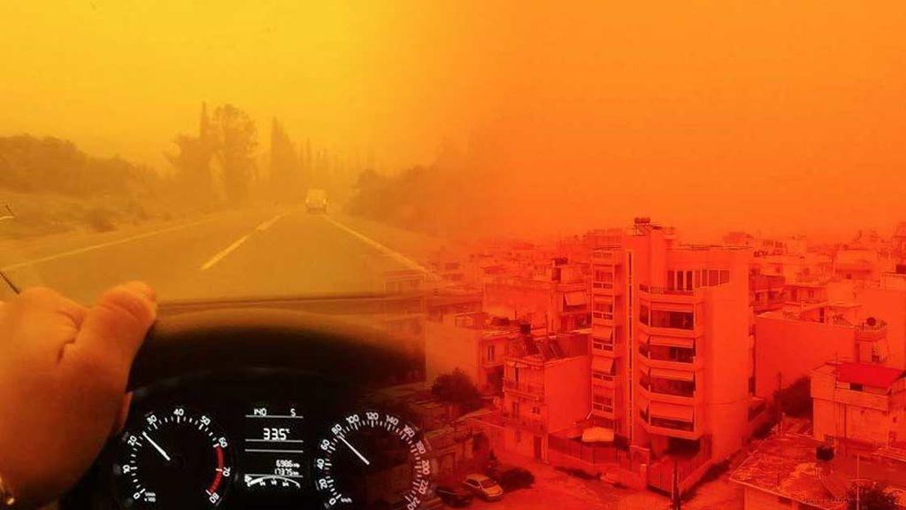 ¡Europa se vuelve naranja! El polvo sahariano invade el Mediterráneo (y va a más)