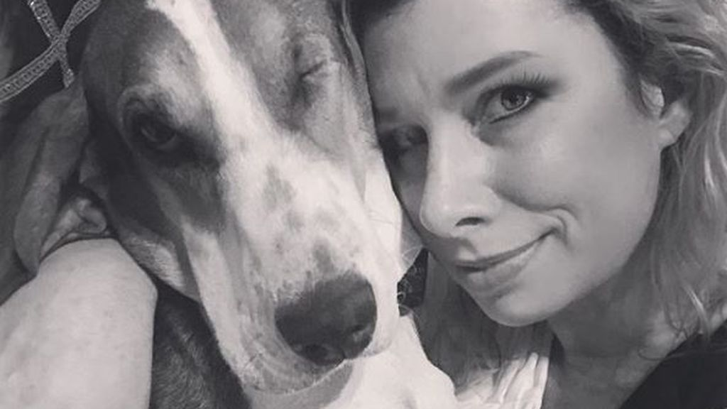 Una perra rescatada salva la vida de su dueña tras detectarle un cáncer de piel